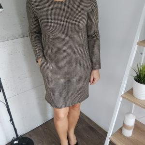Sukienka dzianinowa Knitted Pepite Gold