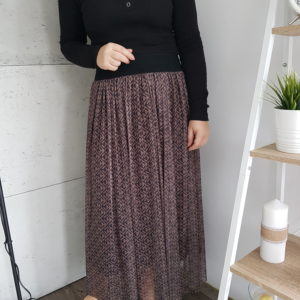 Spódnica maxi Dark Brown