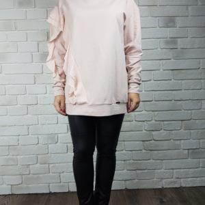 Bluza z falbaną Pink Tulle Dragonfly