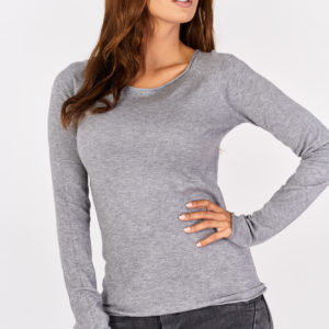 Sweterek basic Gray Classic