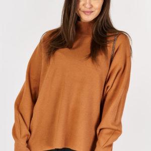 Sweter Oversize Camel