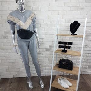 Komplet dresowy Shiny Grey